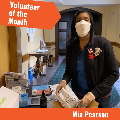 Beyond Hunger Volunteer of the Month Mia Pearson